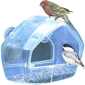 Perkypet Window Wild Bird Feeder
