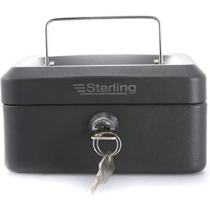 Sterling Petty Cash Box Combination Lock