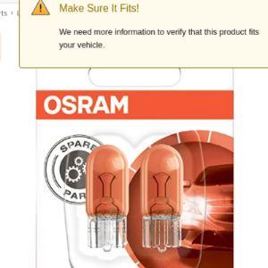 Osram Side Turn Signal Light
