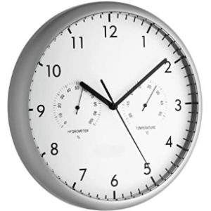 Tfa Dostmann Wall Clock Thermometer Hygrometer