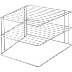 Metaltex Corner Plate Shelf