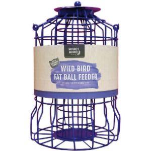 Natures Market Caged Fat Ball Bird Feeder