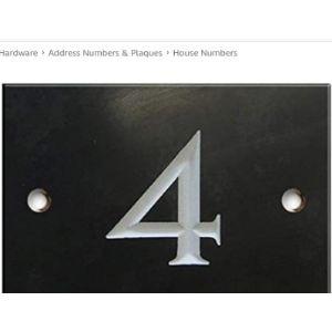 Numbers & Name By Atlantic Hardware Meaning 4 House Numbers