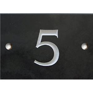 Large House Number Plaque