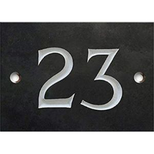 Numbers & Name By Atlantic Hardware House Number Threes