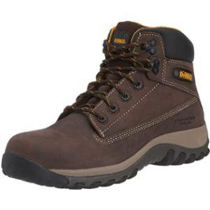 Dewalt Brown Leather Non Metallic Safety Hiker Boot