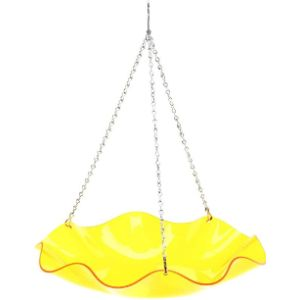 Birds Choice Yellow Bird Bath