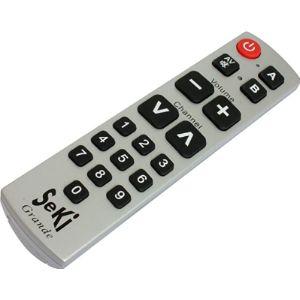 Seki Big Button Tv Remote Control