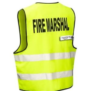 Thesecuritystore Safety Sign Hi Vis Vest