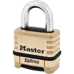 Master Lock Pro Series Solid Brass Combination Padlock