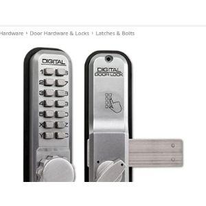 Lockey Deadbolt Combination Lock