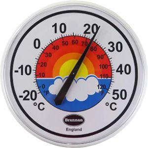 Brannan Window Mount Outdoor Thermometer