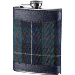 Premier Housewares Leather Hip Flask 8Oz