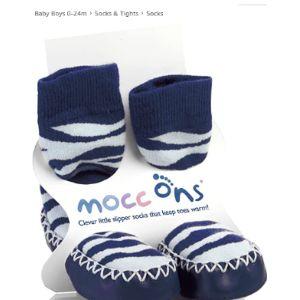 Mocc Ons Zebra Sock