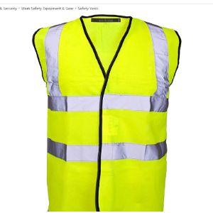 Myshoestore Ppe Safety Vest