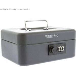 Sterling Combination Lock Safe Box