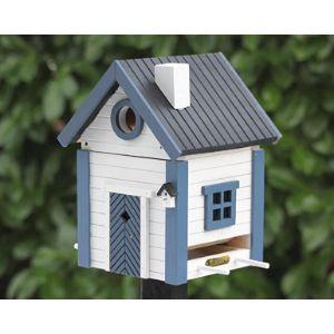 Wildlife Garden Pole Mounted Bird Feeder