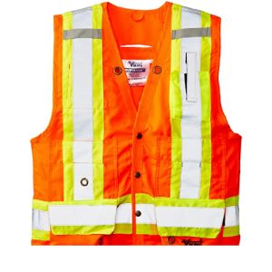 Viking Orange Surveyor Safety Vest