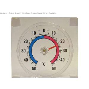 Faithfull Thermometer Window