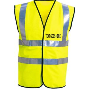 Printed By Custom-Funky Image Safety Vests