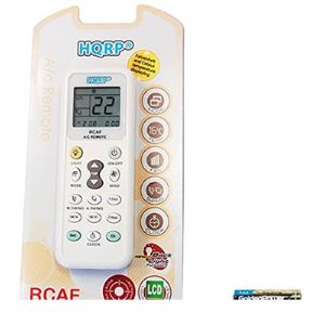 Hqrp Ac Universal Remote Control