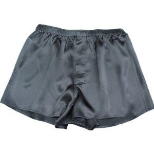 Jasmine Silk Black Boxer Short
