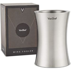 Vonshef Stainless Steel Wine Bottle Holder