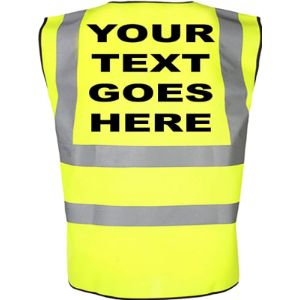 Custom-Funky Personalised High Visibility Vest
