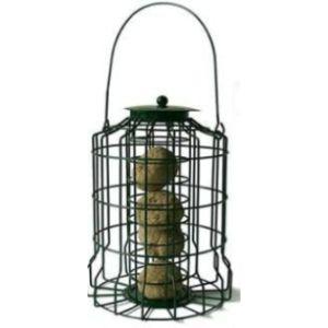 Home & Garden Caged Fat Ball Bird Feeder