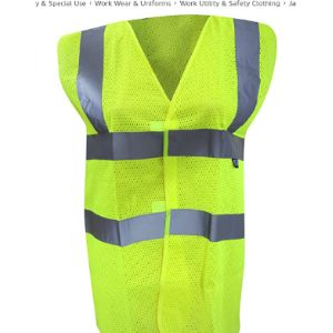 Yoko Screen Printing Safety Vest