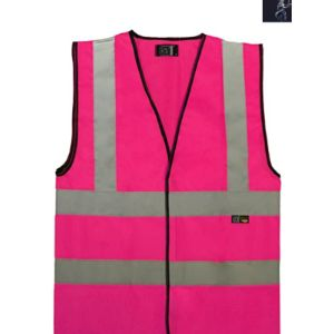Supertouch Red Safety Vest