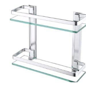Kes Glass Bathroom Shelf
