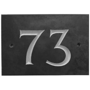 The House Nameplate Company House Number Three