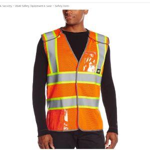Caterpillar Breakaway Safety Vest