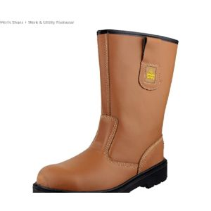 Amblers Safety Lined Rigger Boot