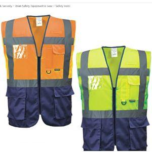 Portwest. Class 3 High Visibility Vest