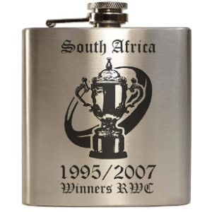 Evolve South Africa Stainless Steel Hip Flask