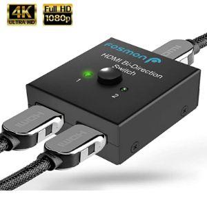 Fosmon 2 Port Hdmi Switch Box