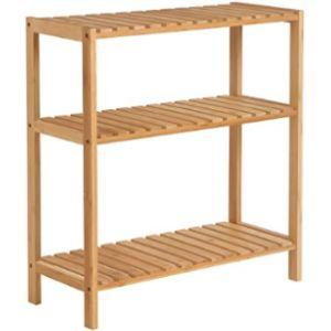 Songmics Bathroom Shelf Bamboo