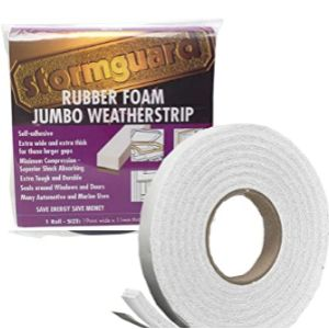 Stormguard Draught Excluder Rubber Seal