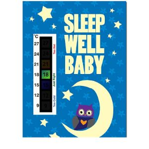 Baby Safe Ideas Baby Wall Thermometer