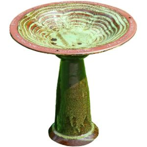 Wildlife World Pedestal Bird Bath