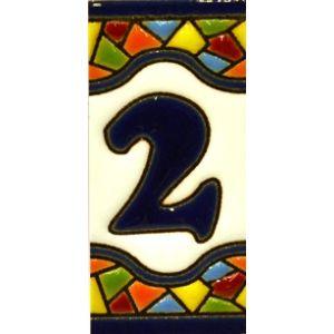 Tile Frame House Number