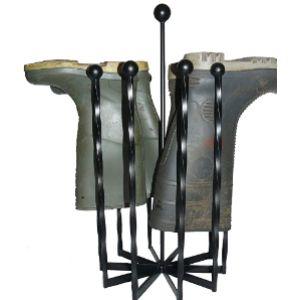 Wimborne Wrought Iron Works Wellington Boot Rack