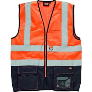 Dickies Navy Blue Safety Vest