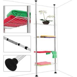 Deuba Extendable Bathroom Shelf