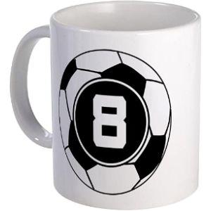 Cafepress Soccer Player Number 8