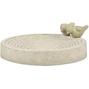 Esschert Design Ceramic Bird Bath
