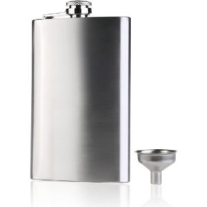 Nuolux Stainless Steel Whisky Flask