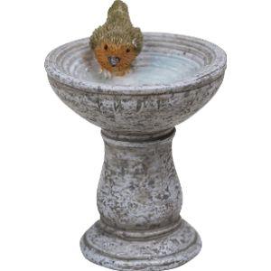 Miniature World Fairy Garden Bird Bath